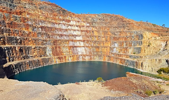 Mary Kathleen Uranium Mine which is now abandoned