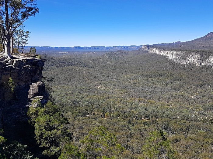 Views from Boolimba Bluff on climb with owner from Sandstone Park