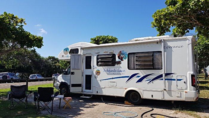 Camping at Rainbow Beach Holiday Village