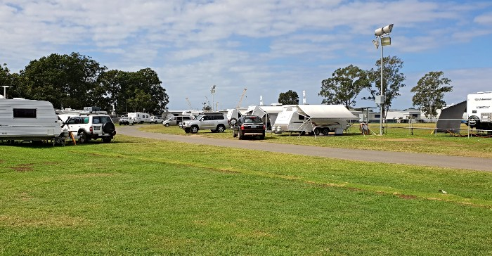 Lawnton Showgrounds Camping area