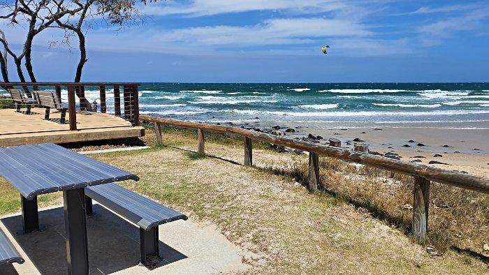 Elliott Heads Kite Surfers