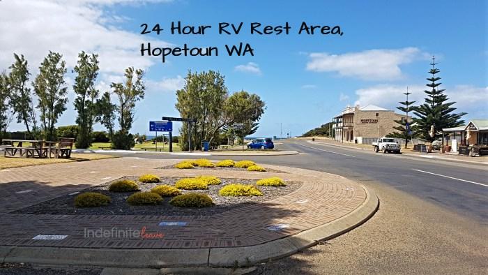 Hopetoun Free Camp