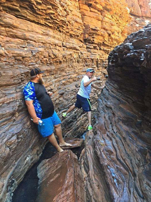 Spider Walk - Hancock Gorge in Karijini