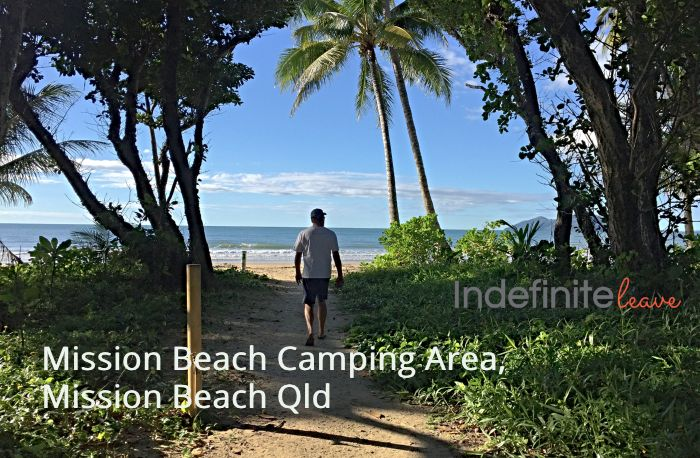 Mission Beach Camping Area