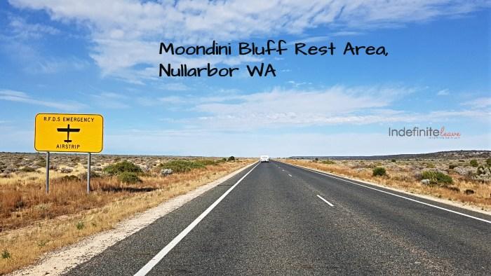 Moondini Bluff Rest Area