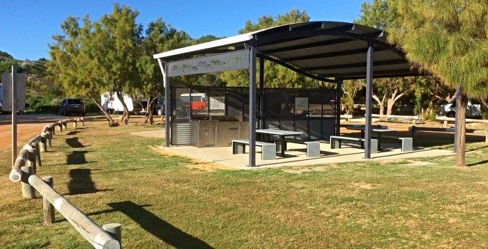 Sandy Cape Recreataional Campground Camp Kitchen