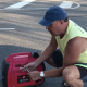 changing the oil in generator