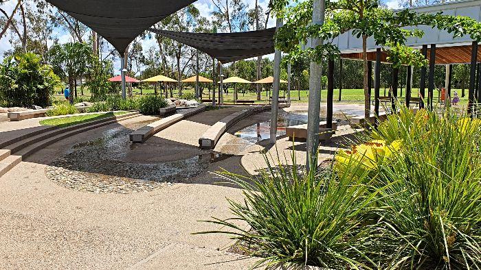 Kershaw Gardens Water Play areas