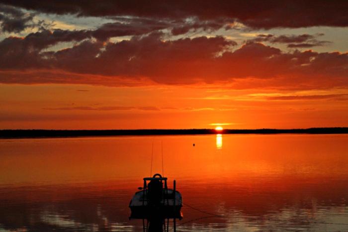 Crab Claw Island Sunrise