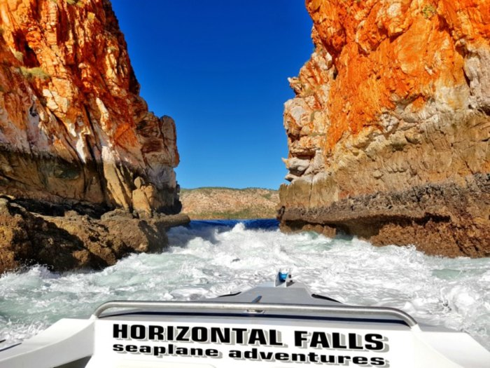 Horizontal Falls was the highest tour cost while traveling Australia