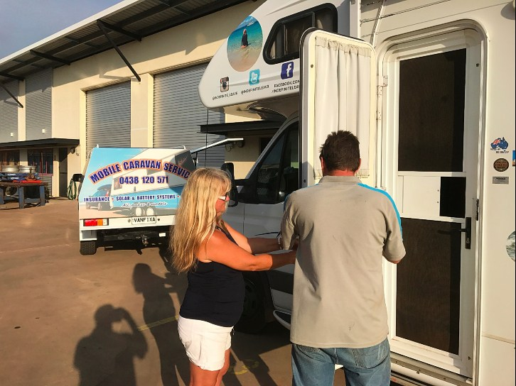 Motorhome Air Conditioner - Repairs in Darwin