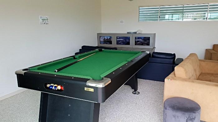 Games Room at the Pier Hervey Bay Caravan Park