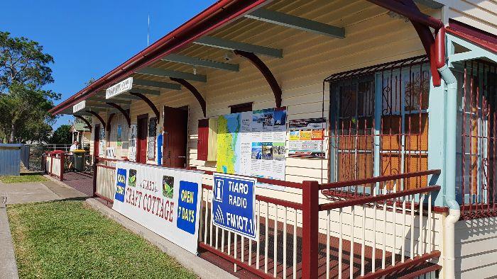 The Old Tiaro Railway Station