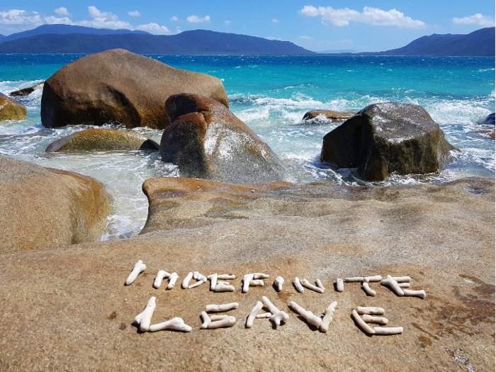 Indefinite Leave on Fitzroy Island