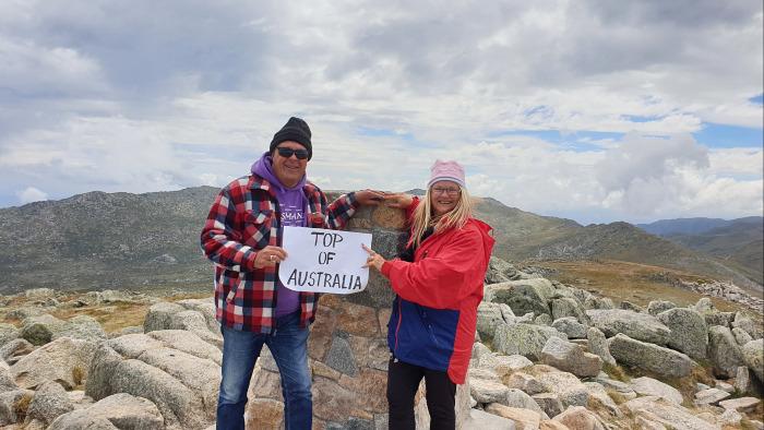 Cost to Travel Australia - On Top of Australia at Mount Kosciuszko