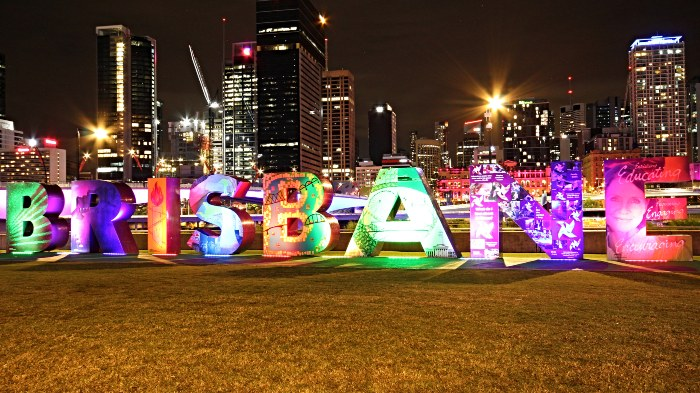 21 Best Things to do in and around Brisbane - Brisbane Sign Southbank