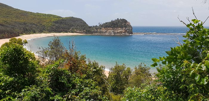 Stunning Maitland Bay in the Bouddi National Park, NSW