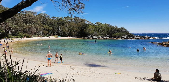 Honeymoon Bay is perfect for swimming