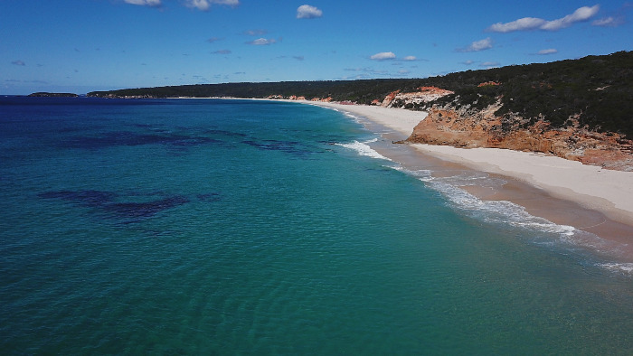 Our 19 Spectacular Secret Beaches list includes The Pinnacles in the Ben Boyd National Park