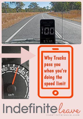 Speedometre Accuracy Trucks Passing