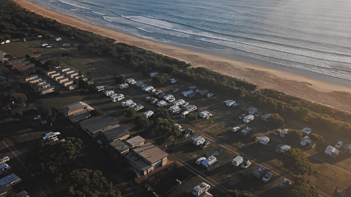 Pambula Beach Holiday Park is our favourite Caravan Park in all of Australia