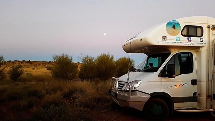 Free Camping at Uluru
