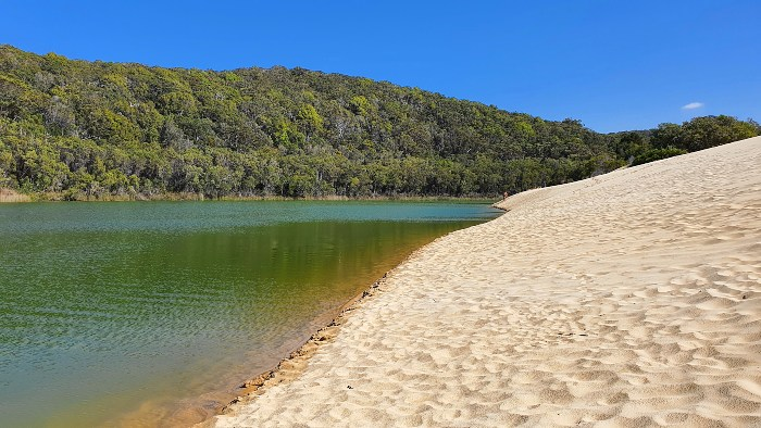 Everything to See and Do on Fraser Island - Lake Wabby