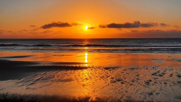 Awesome Sunrises on Fraser Island