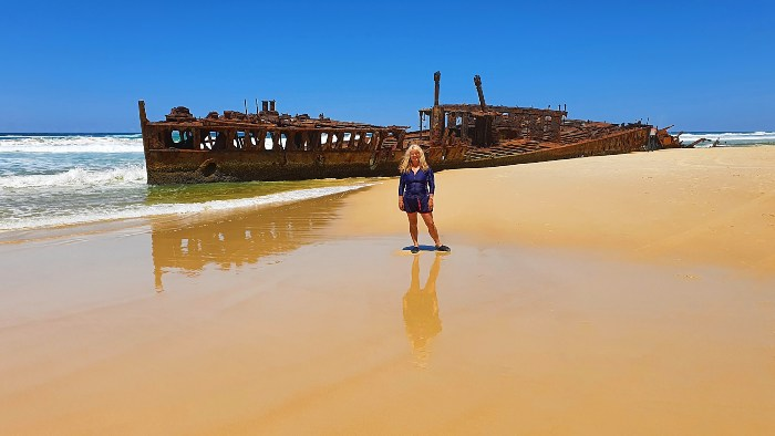 Everything to See and Do on Fraser Island - S.S. Maheno