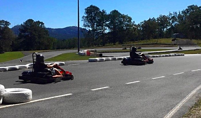 Big Karts is another thing you must do on the Sunny Coast