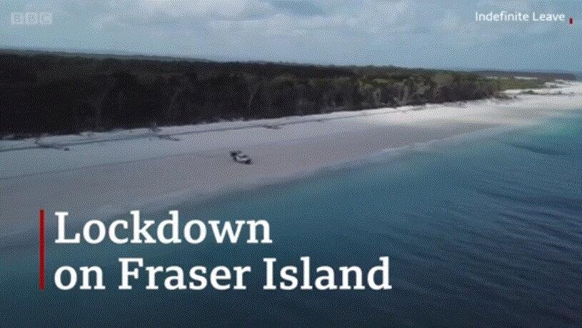 Coronavirus: Lockdown on a deserted Australian Island