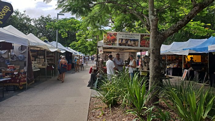One of 15 Things to do on the Sunshine Coast - Eumundi Markets