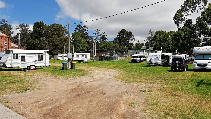 Bega Showgrounds Campground