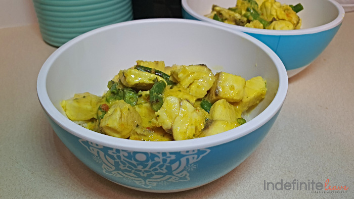 Alternative Suggestion - Cambodian Fish Curry
