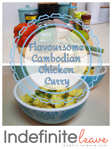 Pin It! Flavoursome Cambodian Chicken Curry