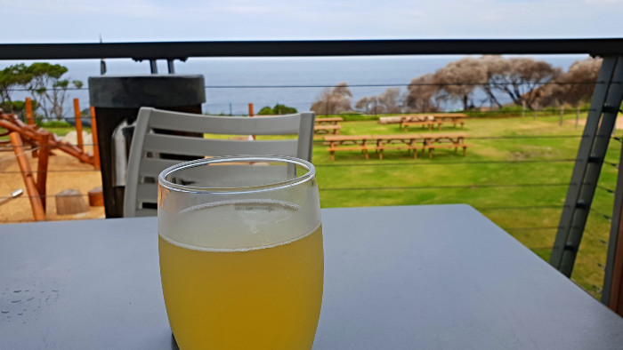 An afternoon drink at the Tathra Hotel
