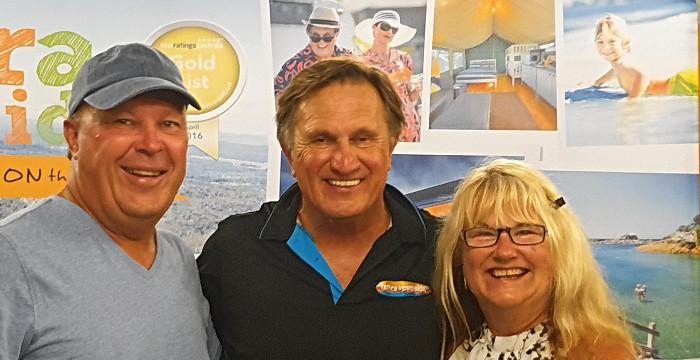 Frankie J Holden Part Owner of Tathra Beachside