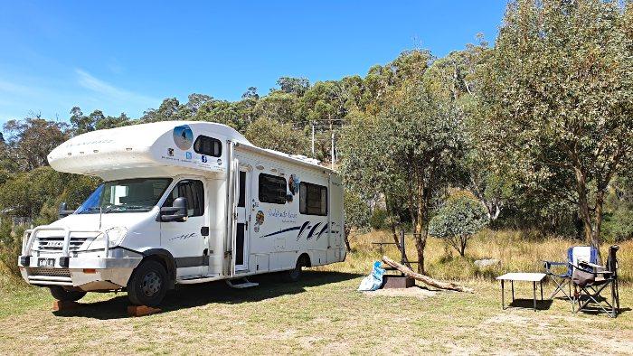 Our Campsite at Ngarigo Campground