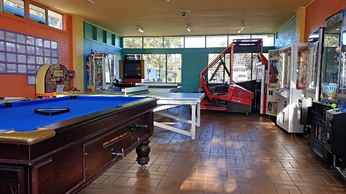 The Discovery Holiday Parks Pambula Beach Games Room