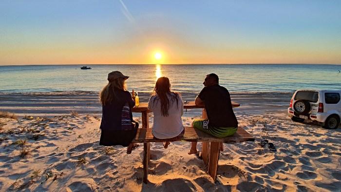 Moreton Island Sunset