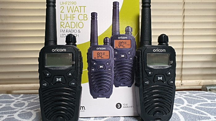 UHF Radios - one of our 47 Caravan Motorhome RV & Camping Accessories