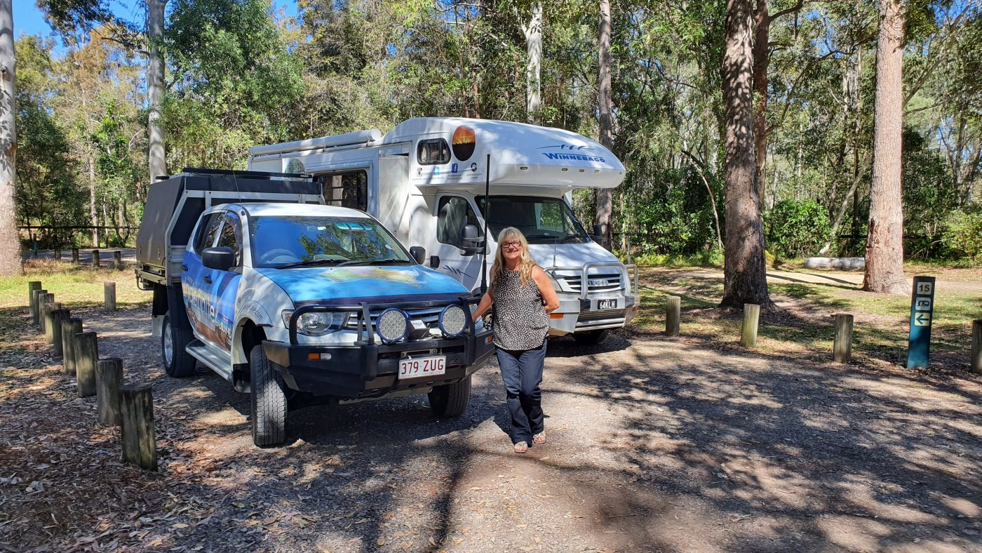 Our Coochin Creek Campground campsite
