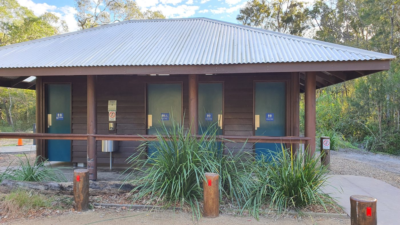 New Toilet block at Coochin Creek Campground