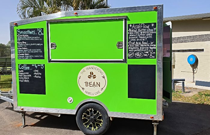 The Wandering Bean Mobile Cafe at the Beerwah Sportsground
