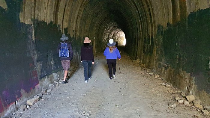 Heading into the Dularcha Railway Tunnel