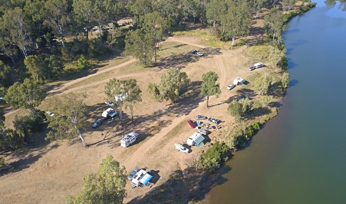 Calliope River Rest Area - One of 16 Great Queensland Free Camps from Brisbane to Cairns
