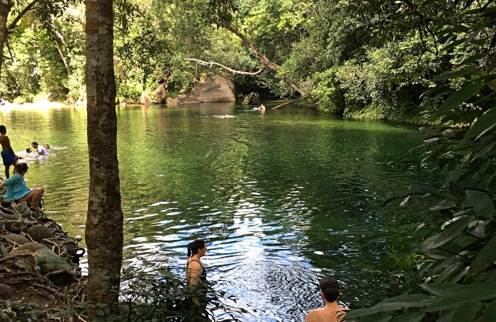 Babinda Boulders Free Camp - one of 16 great Queensland Free Camps