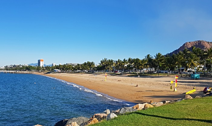 Townsville's beachfront - The Strand