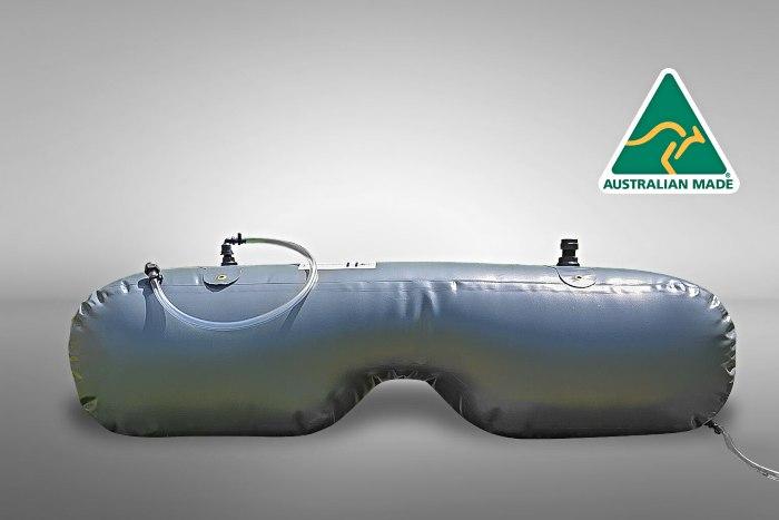 Water Bladder - a useful item on our list of 47 Caravan Motorhome RV & Camping Accesssories list