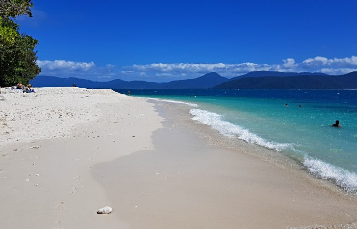 Nudey Beach on Fitzroy Island